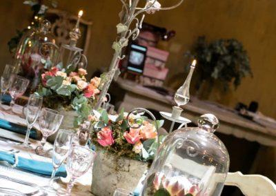 Table settings at Die Akker